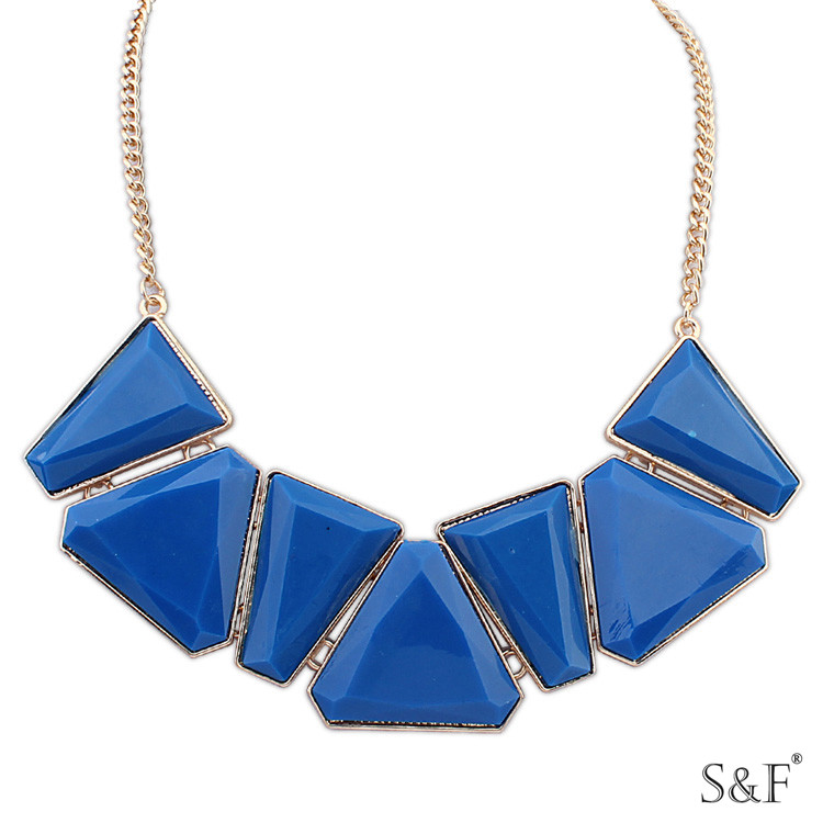 tassels necklace jewelry wholesale 105947 new arrival blue statement neckace