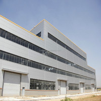 light material steel frame warehouse