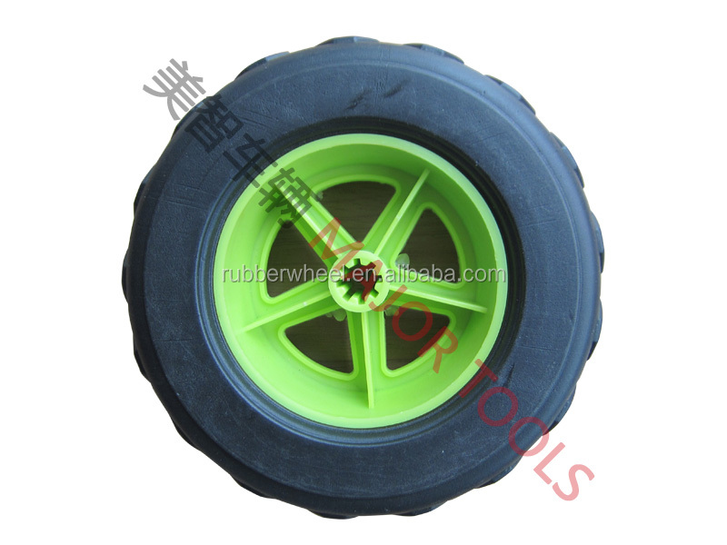 6 inch 6X2 plastic wheels for sand