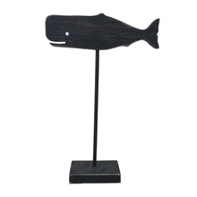 Cheap Chinese Smartly Designed wooden craft shapes arts crafts Whale model for sale decor home panel on stand Wood ornaments