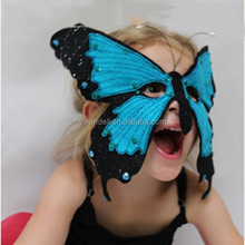 Popular purple Butterfly mask,Butterfly mask carnival,animal mask