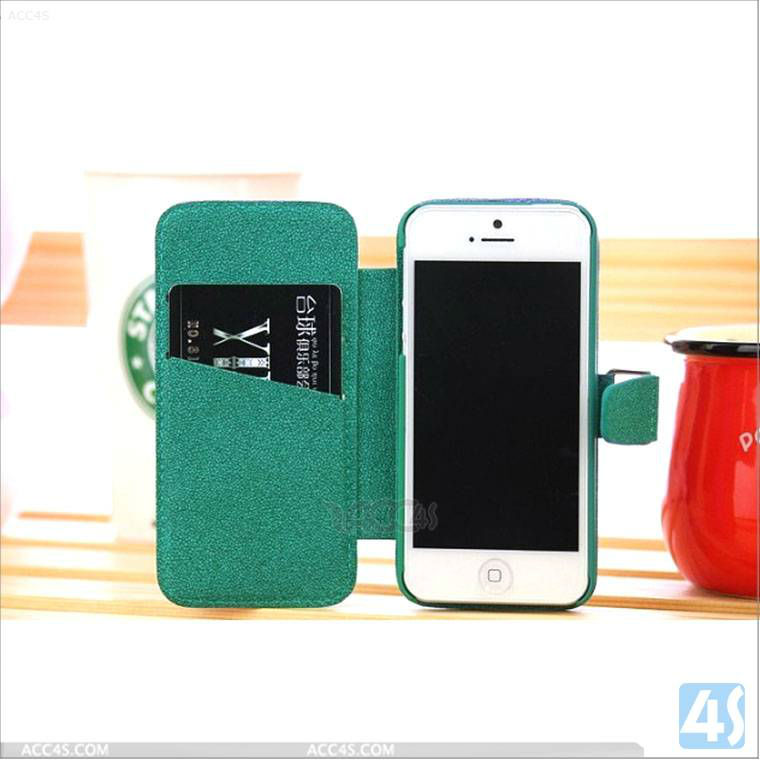 "Phone case snow pattern Flip Flux Leather Case Cover for iphone 5"" original P-IPH5CASE121"