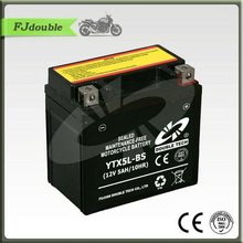MOTORCYCLE PART Dry Charged Sealed Maintenance Free Motorcycle Battery YTX5L-BS(12V 5AH)