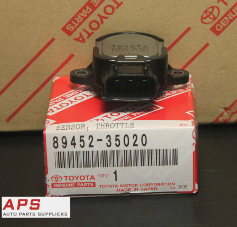 Genuine Toyota Throttle Position Sensor Tps 4runner Tacoma OEM 89452-35020