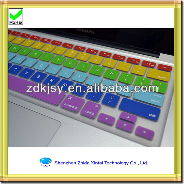 waterproof and anti dust silicone gel keyboard cover