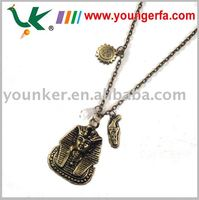 Cheap Retro Fashion Alloy necklace with Egyptian picture