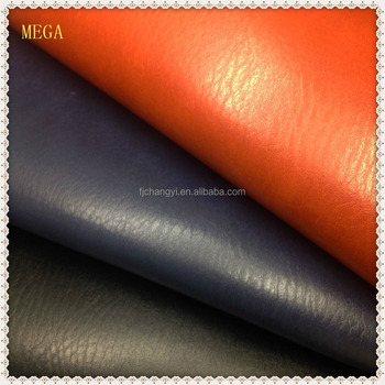 2015 Fashion Microfiber Fabric Leather ,Microfiber Faux PU Leather, China Elephant Textures Leather For Shoes
