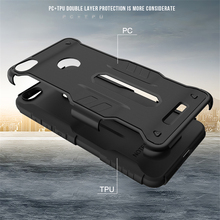 Hot Selling China Shockproof Warrior Armor Stand Holder Phone Cover Case for Xiaomi Redmi Note 5a mi 4i 3s Prime Huawei Y635