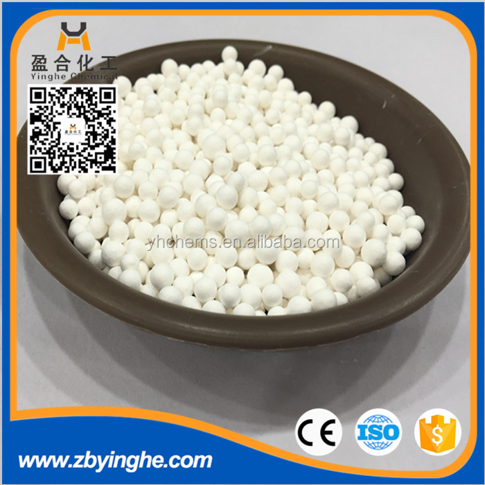 High Bulk Density Activated Alumina Beads for instrument deiccant