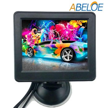 Foldable Car 3.5 inch TFT LCD Rearview Monitor with Camera
