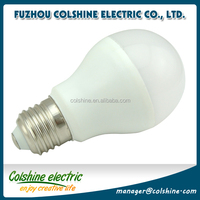 plastic and aluminum e27 10w 9w 8w 7w 5w 3w dimmable led light bulb