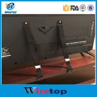 Wisetop Anti-Tip Straps - Anchor Flat Screen TV or Furniture to Baby Proof- Heavy Duty Safety Straps with Metal Plates