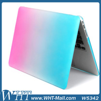 "for Macbook Case Gradient Color Rainbow Case for Macbook Air 11"" PC Case Hard Cover"