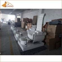 Hot sale factory direct price pedicure chairs white uk and basins