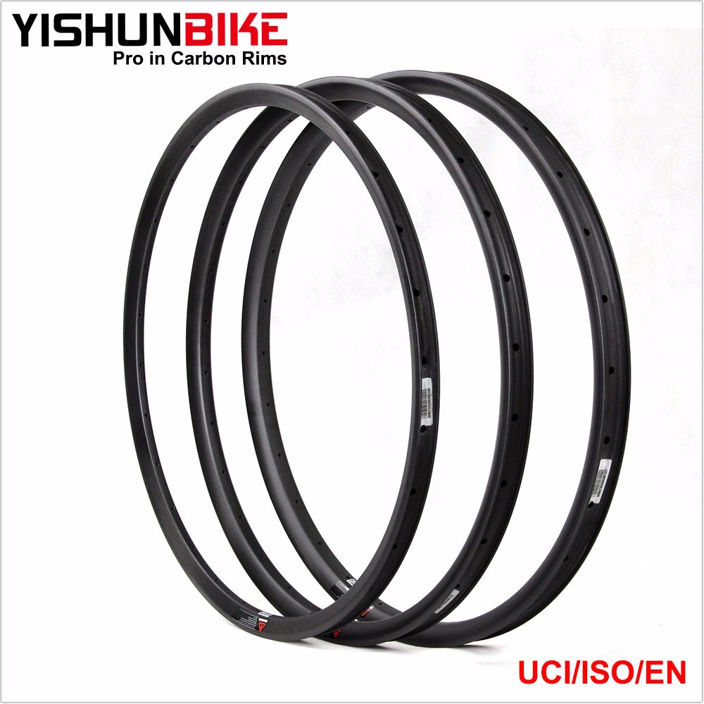 2016 New MTB PLUS Rims 29er 25mm height 42mm width MTB RIMS Clincher carbon rims light rims CCR29-42S-PLUS