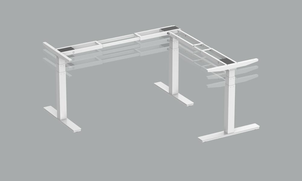 manufacturer height adjustable desk 3-leg metal frame