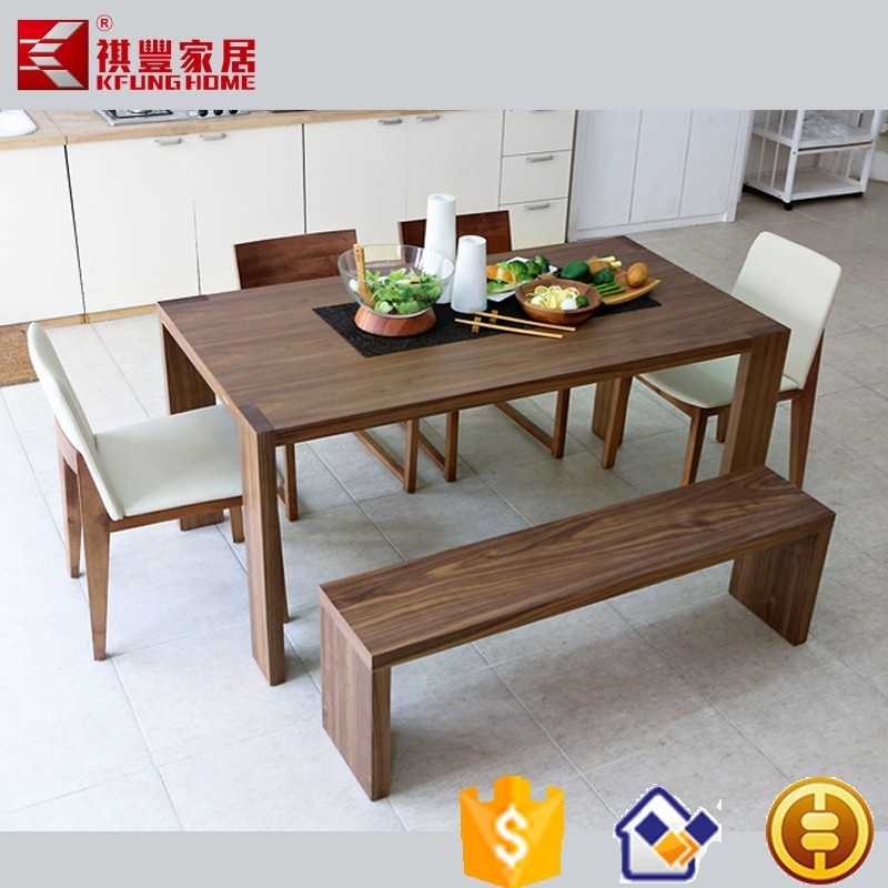 Modern Rectangular Six Seats Wood Dining Tables Buy Wooden Dining