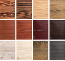 OEM Factory fashion pattern adhesive decorative wood grain pvc film for indoor decoration