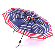 anti UV protection sun auto open and close umbrella type and pongee material