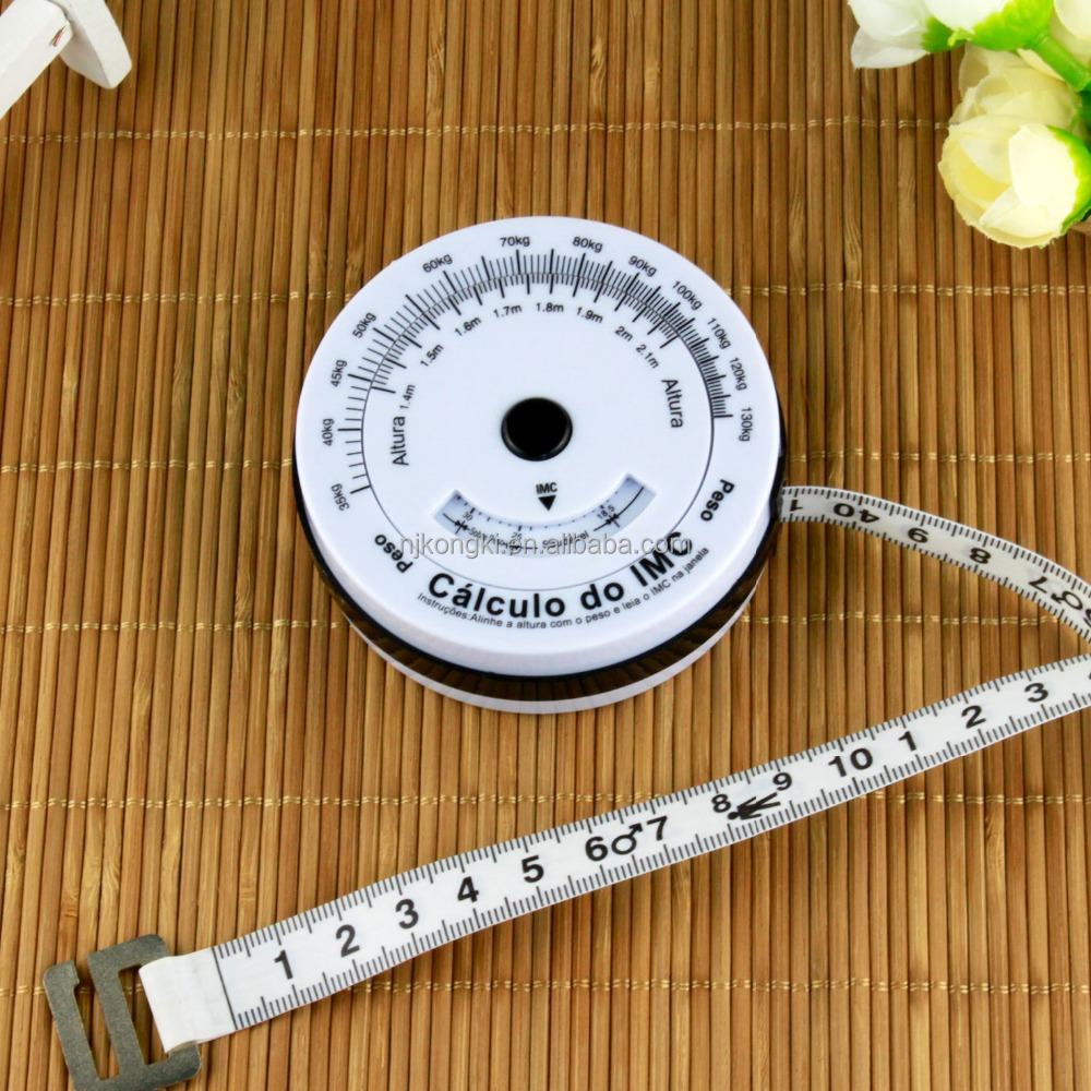 Factory supply super quality BMI tape measure wholesale 2017