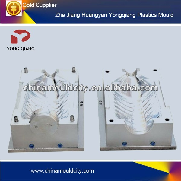 Plastic drinking machine bucket blow Mould