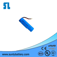 Wholesale Rechargeable Strong Light High Capacity Small 18650 Batteries with pcb protected