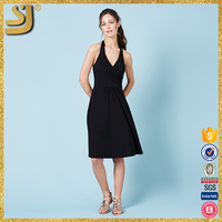 OEM factory price beach backless dress