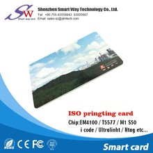 electronic Read Only RFID Transponders EM4100 ID card