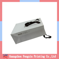 Recycled custom brown kraft paper bags with paper handle for promotion wholesale