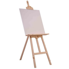 wood easel canales para picture em tela painting display stand