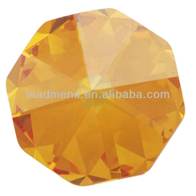 Orange special shape brilliant cut semiprecious stones cubic zirconia gemstone CZ synthetic stone gems beads for jewelry making