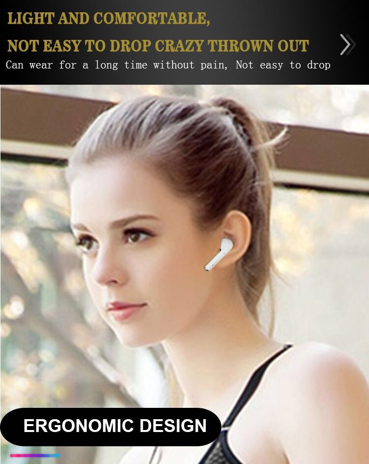 Top cordless compare audio headset mini i9S TWS Stereo Earbuds Wireless earphone With Charging Case