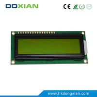 Yellow Green 16x2 SPLC780 Character Lcd