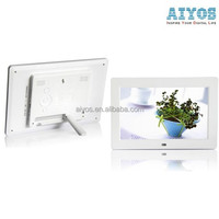 Fast Lead Time Auto Play Photo Music Video Digital Photo Frame 10 inch With Remote Control