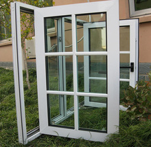 Factory price used aluminum casement windows of ISO9001 Standard