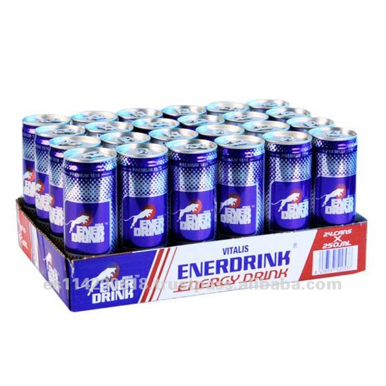 ENERDRINK Energy Drink Canned 24x25cl