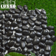 Chinese nature black River pebble stone pot for decoration and landscaping