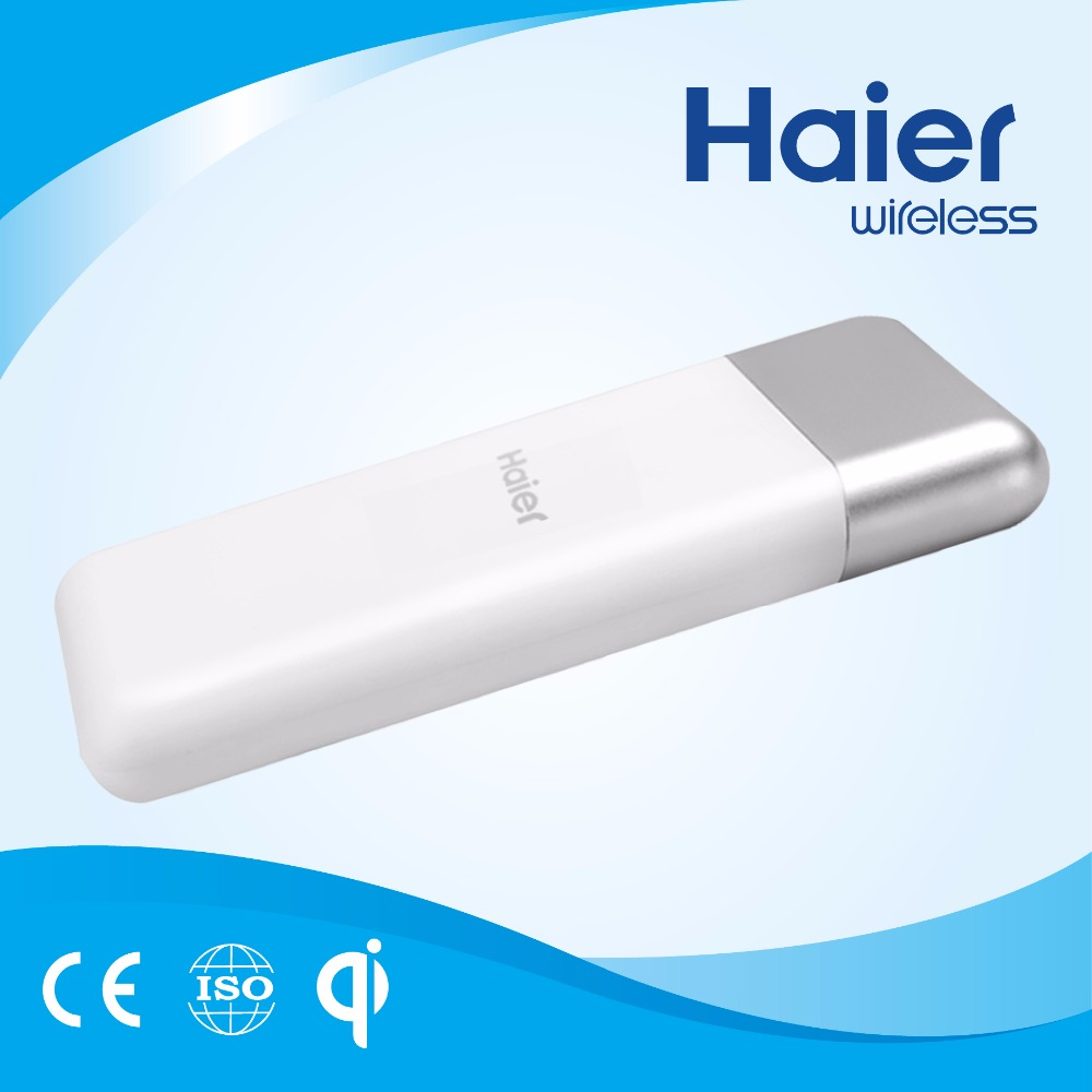 Haier 10000mAh Wireless Charging USB Charger Power Bank for Smart Phone