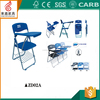 Conference folding chair with writing table/plastic office chair with metal mesh ZD02A
