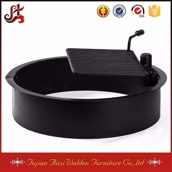 outdoor grill grates Steel Insert and Cooking Grate for Ring Fire Pit