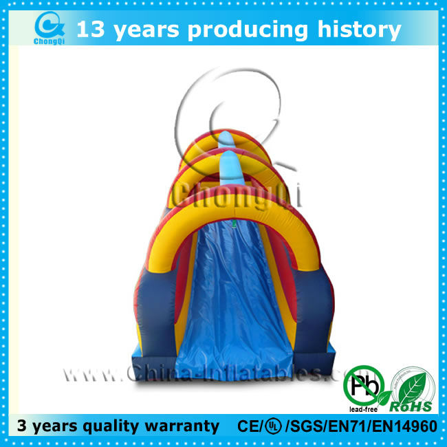 high quality pvc giant slip and lside, long slip and slide, inflatable giant slip and slide