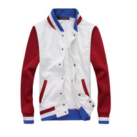 Colleage Boys Sport Cotton Varsity Jacket