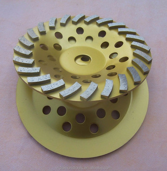 Sintered Diamond Grinding Cup Wheel For Granite