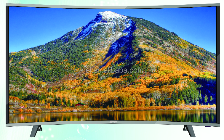 2016 NEW MODEL! led tv 32inch slim frame curved tv in high quality with very competitive price