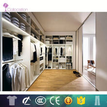 Guangzhou modular Project mdf fitted wardrobes