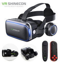 Vritual Reality Shin econ 6.0 Headset VR Glasses Helmet 3D Box For 4.5-6.0 Smartphones