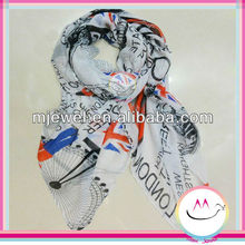 New style United Kingdom flag scarf