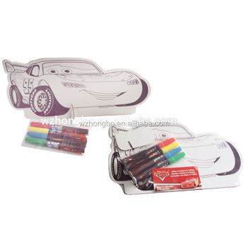 Car shape drawing board