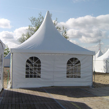 8m event wedding gazebo party tent for sale , aluminium frame structure luxury pagoda yurt tent