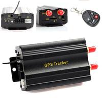 cheap gps car tracking device with remote controller cut off car engine TK103B Coban Original